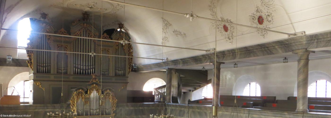 Orgel in der Altdorfer Laurentiuskirche